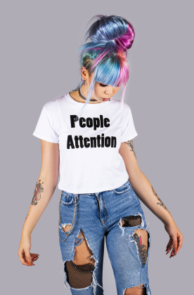 "T-shirt ""People Attention"""
